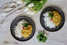 Comforting Coconut Red Lentil Daal