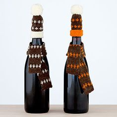 great way to personalize a gift of wine