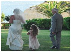 Wedding up on a cliff in the Algarve