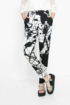 Printemps2016 Desigual Pantalons Derram