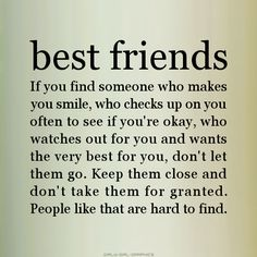 Sweet things to say to best friend