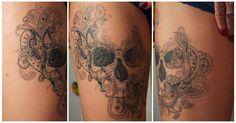 paisley skull - I love this!!!