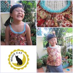 sleevesless for mom and girl (Thai style)  size S M L