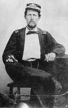Union Navy officer Charles Williamson Flusser was killed April 19th 1864 while in battle on the USS Miami.