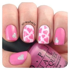valentine by 4ubyu #nail #nails #nailart