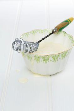 charlie davis, stylist, food styling, photography, bowl of cream