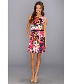 Jessica Simpson Tank Fit and Flare Dress Viola - Zappos.com Free Shipping BOTH Ways