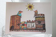 +Jetzt auch als Postkarte+    *Für die Aktion KunstRaub Nr.6 mit dem Titel MusterHäuser, inspiriert von der traditionellen Hauskunst afrikanischer ...