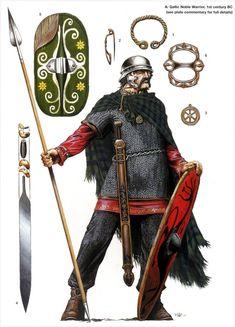 Gallic/Celtic noble warrior