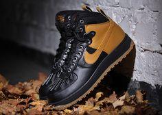 Nike Air Force 1 High Duckboot – Black – Gum Light Brown