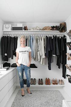 aménager un dressing, organisation de vêtements pratique
