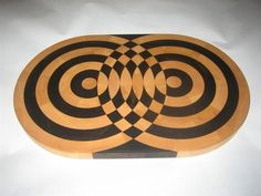 Pretty sure this is one of the most unique and difficult board designs I have seen!!  end grain cutting board designs - Google Search