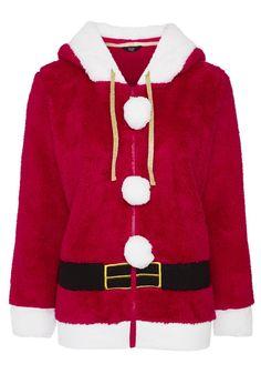 Clothing at Tesco | F&F Mrs Claus Christmas Hoodie > hoodiessweatshirts > Women's Tops & T-Shirts > Women