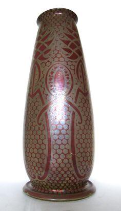 GALILEO CHINI Jugendstil Vase, Italien, Mugello, Liberty, Art Nouveau, Borgo San Lorenzo, Firenze, Arte della, Ceramica, Grata, ceramista italiano