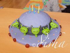 Aliens cake (dort mimozemšťani)