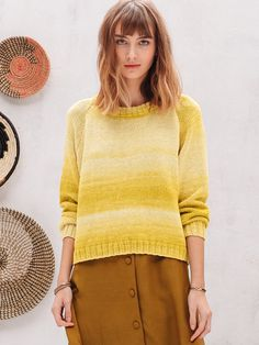 FRIDA genser i Phil Degrade Jumpers, Pulls, Sarees, Turtle Neck, Pullover, Ajouter, Sweaters, Style, Crochet