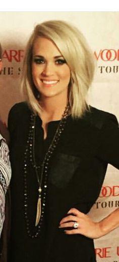 Magnificent Carrie Underwood Grammys 2016 Hairstyles I Love Pinterest Short Hairstyles For Black Women Fulllsitofus