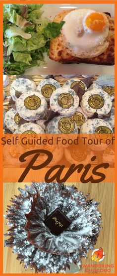 Explore the culinary delights of Paris France with this detailed self guided walking food tour of Paris. Learn about French cuisine and taste authentic croissants, pastries and explore food markets.