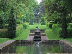 Water in the garden...