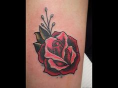 61 Small Rose Tattoos Designs for Men and Women - Beste Tattoo Ideen Tribal Rose Tattoos, Rose Tattoos For Women, Beautiful Tattoos For Women, Butterfly Tattoos, Free Tattoo Designs, Tattoo Designs For Girls, Trendy Tattoos, Small Tattoos, Simple Rose Tattoo