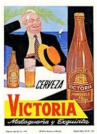 Resultado de imagen de carteles antiguos de cerveza