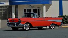 CHEVROLET BEL AIR CONVERTIBLE 1957