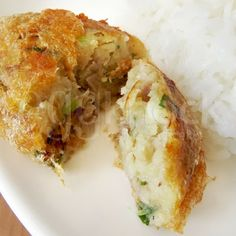 Indonesian Perkedel, Easy potato pancake recipe.