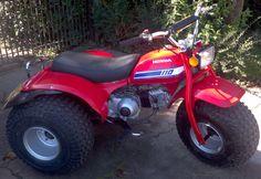 Triciclo Honda ATC 110 cc. modelo 81. Original. http://www.arcar.org/moto-honda-triciclo-110-55943