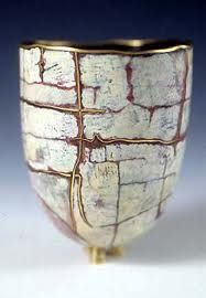 Sarah Perkins enameled vessel