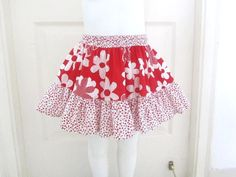 Sewing Patterns for Girls Dresses and Skirts: Easy Peasy Summer Skirt (Free Sewing Pattern), 2 to 10 Years