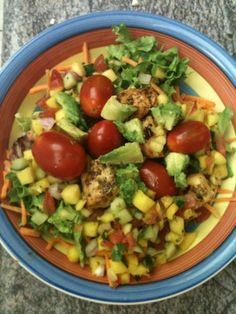Must-Have Mango Chicken Salad