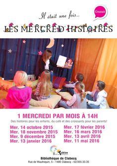 Escapages: Mercred'histoires à la Bibliothèque de Clabecq