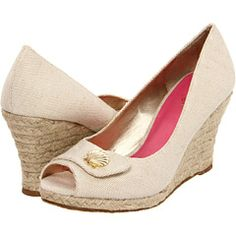 rom cocktail hour to casual dinners, these cute Lilly Pulitzer™ wedges work for a variety of occasions. $218 ♛♥SJJ♥♛