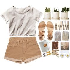 """cool summer days"" by beacons on Polyvore"