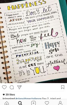 Happy Quotes to Help You Forget Your Worries – Viral Gossip Self Care Bullet Journal, Bullet Journal Quotes, Bullet Journal Writing, Bullet Journal 2020, Bullet Journal Aesthetic, Bullet Journals, Journal Prompts, Journal Pages, Journal Inspiration