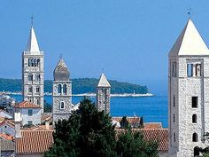 towers of Rab island, Croatia.  Had an excellent holiday there last year.  Loved the people and their spirit.
