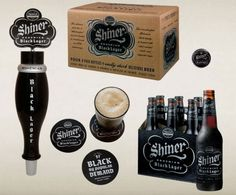 Shiner Brand Beer...brand extension done beautifully.