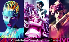 23 Colorful Fashion Photographs by Elizaveta Porodina - Colorful and Modern. Read full article: http://webneel.com/fashion-photography | more http://webneel.com/fashion | Follow us www.pinterest.com/webneel