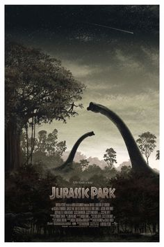Jurassic Park (Art by JC Richard)