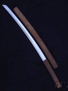 Rosewood Razor Sharp Japanese Sword Shirasaya Wakizashi + Free Sword Bag