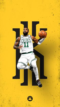 Sport – Renna J. Basketball Art, Basketball Pictures, Love And Basketball, Basketball Players, Kyrie Irving Logo, Kyrie Irving Celtics, Irving Wallpapers, Nba Wallpapers, All Nba Players