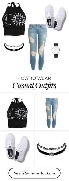 """casual"" by cutiewavey on Polyvore"