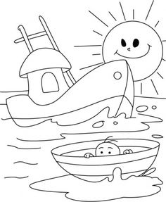 Boats And Ships Coloring Pages For Your Little Ones Truck Coloring Pages, Colouring Pages, Free Coloring, Coloring Pages For Kids, Coloring Sheets, Coloring Books, Kids Coloring, Art Drawings For Kids, Drawing For Kids
