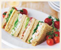 Sainsbury party platters sandwiches