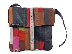 Tasche aus Lederresten von ichichich bei Kult-Design-Unikate in Chemnitz