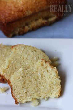 Melt-in-your mouth coconut bread - is this REALLY my life? | is this REALLY my life?