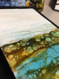 Encaustic Painting -by Victoria Pierson www.victoriapiersonfineart.com