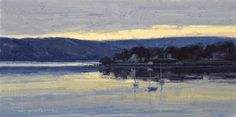 Dawn, High Tide-Navesink River by Skip Whitcomb, oil painting on linen, 10 x 20. Skip Whitcomb: Weekend With the Masters Instructor Born in 1946, M.W. Skip Whitcomb has been interested in art since his childhood on a ranch near Sterling, Colorado. However, Whitcomb decided to pursue a professional artistic career only when a university drawing…