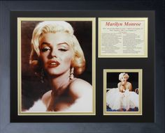 Marilyn Monroe - Color Portrait Framed Photo Collage