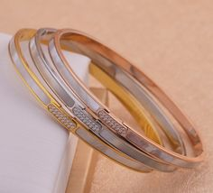 Stainless Steel White gold color love bracelet Contracted fashion titanium steel silver bracelet&bangle for women jewelry